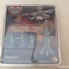 Juegos Antiguos: WARHAMMER AVATARS OF WARS CONDESA VAMPIRO. Lote 176462944