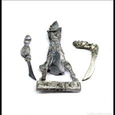 Juegos Antiguos: WARHAMMER RACKHAM FIGURA METAL. Lote 176567639