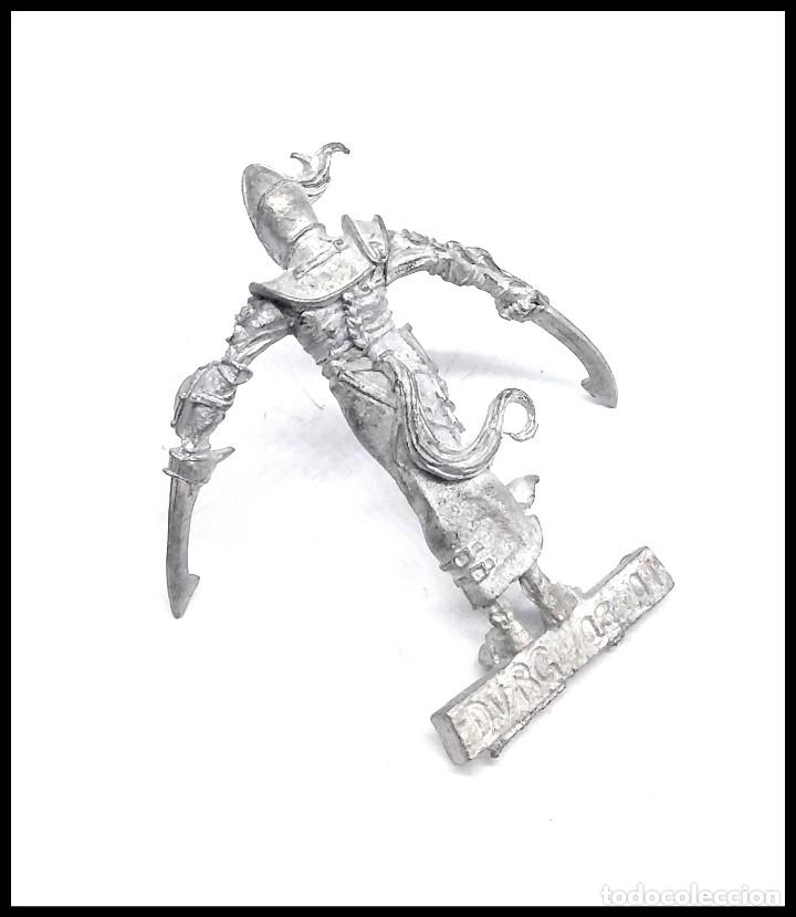 Juegos Antiguos: Warhammer Rackham FIGURA METAL - Foto 2 - 176567648