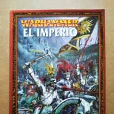 Juegos Antiguos: WARHAMMER: EL IMPERIO (GAMES WORKSHOP, 2000). POR ALESSIO CAVATORE.. Lote 176823405