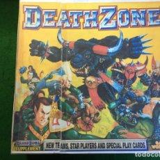 Juegos Antiguos: JUEGO DEATH ZONE BLOOD BOWL. Lote 177500893