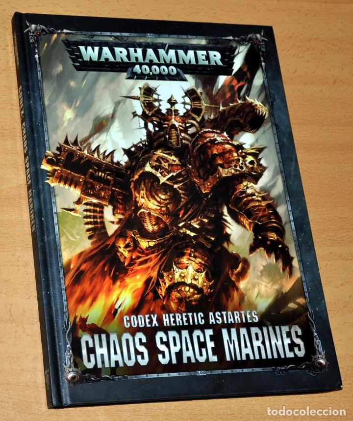 WARHAMMER 40.000 - CHAOS SPACE MARINES - EDITA: GAMES WORKSHOP - AÑO 2017 (Juguetes - Rol y Estrategia - Warhammer)