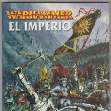 Juegos Antiguos: SUPLEMENTO, EJERCITOS WARHAMMER, EL IMPERIO. Lote 178877531