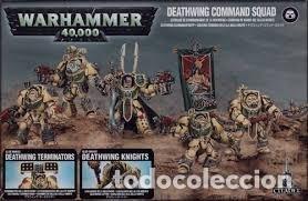ESCUADRA DE MANDO DEL ALA DE MUERTE - WARHMMER 40000 (Juguetes - Rol y Estrategia - Warhammer)