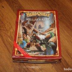 Juegos Antiguos: EXPANSIÓN ORIGINAL INTACTA PRECINTADA HEROQUEST KELLAR´S KEEP TORRE MB 1989 GAMES WORKSHOP . Lote 179196378