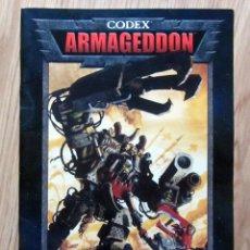 Juegos Antiguos: CODEX : ARMAGEDDON - WARHAMMER 40.000 / GAMES WORKSHOP. Lote 180234947