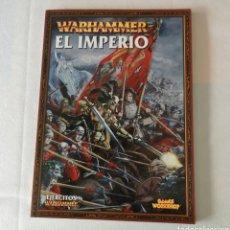 Juegos Antiguos: WARHAMMER: EL IMPERIO. Lote 180289713