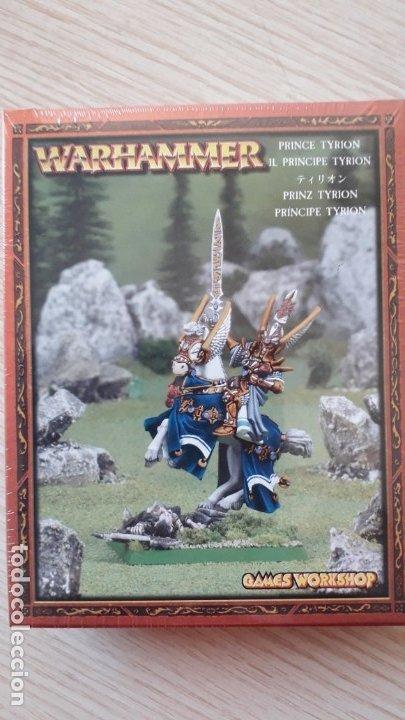 PRINCIPE TYRON - WARHAMMER (Juguetes - Rol y Estrategia - Warhammer)