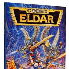 Juegos Antiguos: CODEX ELDAR SUPLEMENTO WARHAMMER 40000. GAMES WORKSHOP. Lote 182378408