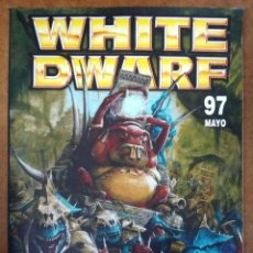 Juegos Antiguos: REVISTA WHITE DWARF Nº 97 - GAMES WORKSHOP. Lote 182293478