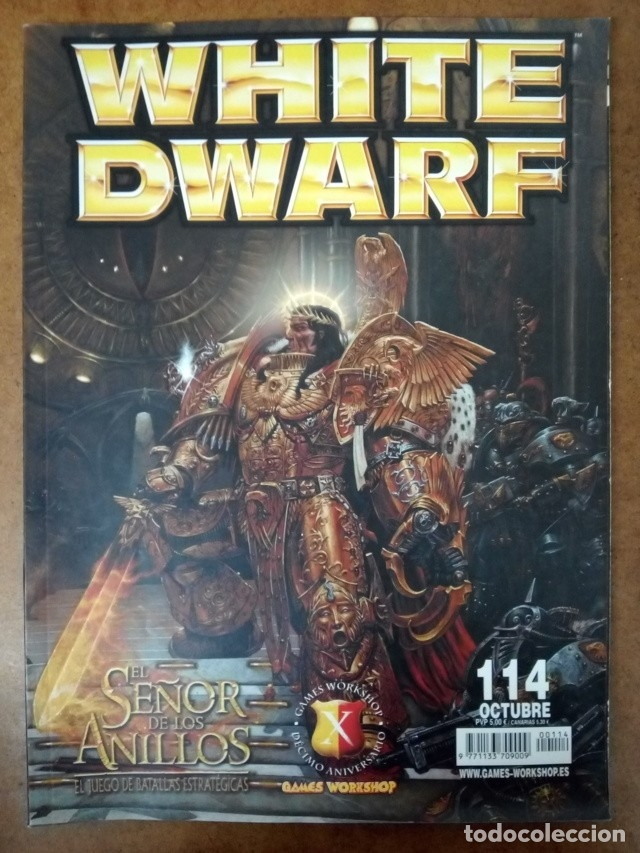 REVISTA WHITE DWARF Nº 114 - GAMES WORKSHOP (Juguetes - Rol y Estrategia - Warhammer)