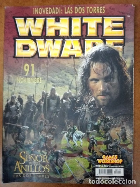 REVISTA WHITE DWARF Nº 91 - GAMES WORKSHOP (Juguetes - Rol y Estrategia - Warhammer)