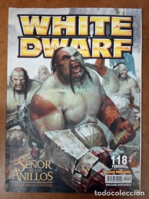 REVISTA WHITE DWARF Nº 118 - GAMES WORKSHOP (Juguetes - Rol y Estrategia - Warhammer)