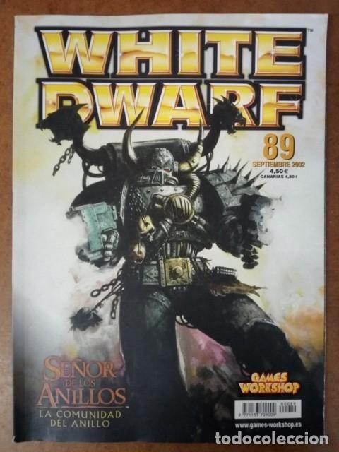 REVISTA WHITE DWARF Nº 89 - GAMES WORKSHOP (Juguetes - Rol y Estrategia - Warhammer)