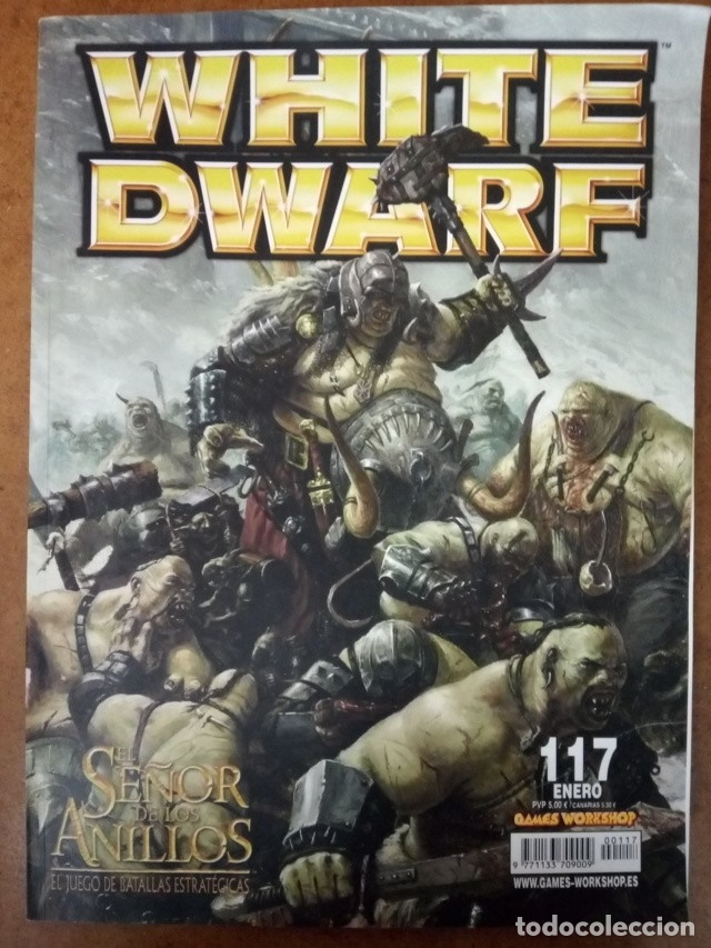 REVISTA WHITE DWARF Nº 117 - GAMES WORKSHOP (Juguetes - Rol y Estrategia - Warhammer)