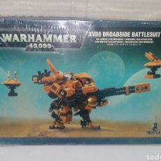 Juegos Antiguos: WARHAMMER 40K XV88 BROADSIDE BATTLESUIT. NUEVO EN CAJA.PRECINTADO.CITADEL.40000.ARMADURA APOCALIPSIS. Lote 200313848
