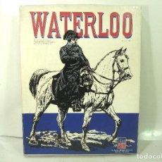 Juegos Antiguos: JUEGO WATERLOO-CAMPAÑA NAPOLEON -AVALON HILL1962¡COMPLETO COMO NUEVO¡ STALINGRADO-WARHAMMER WARGAMES. Lote 183429723