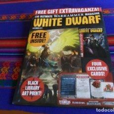 Juegos Antiguos: CARPETA WHITE DWARF, THE ULTIMATE WARHAMMER MAGAZINE. . Lote 183670972