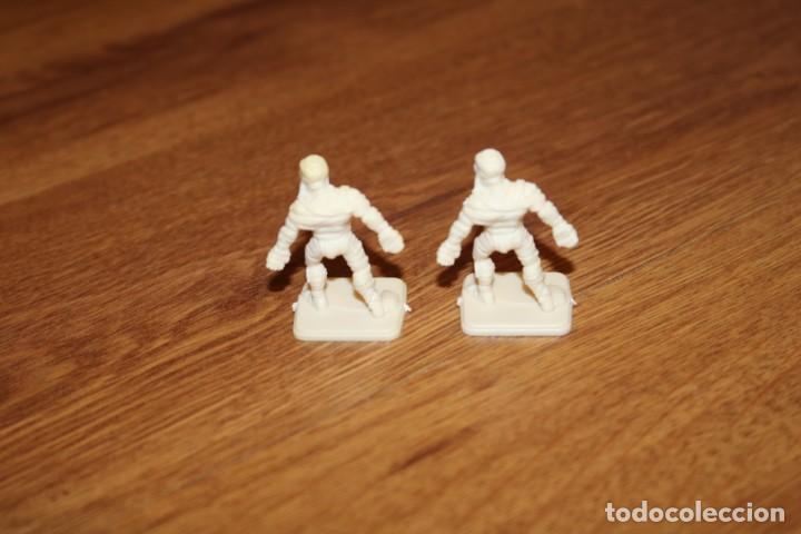 Juegos Antiguos: 8 miniaturas momia zombie esqueleto monstruos HeroQuest MB 1989 sin pintar juego Games Workshop - Foto 5 - 210225175