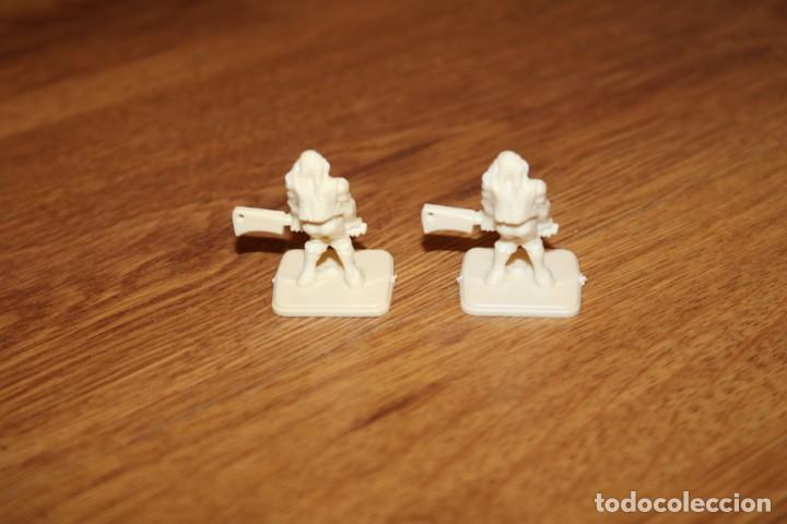 Juegos Antiguos: 8 miniaturas momia zombie esqueleto monstruos HeroQuest MB 1989 sin pintar juego Games Workshop - Foto 7 - 210225175