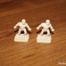 Juegos Antiguos: 2 MINIATURAS MOMIA MONSTRUOS HEROQUEST MB 1989 SIN PINTAR JUEGO GAMES WORKSHOP. Lote 294478878