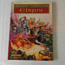 Jogos Antigos: EJÉRCITOS WARHAMMER: EL IMPERIO. Lote 184179315