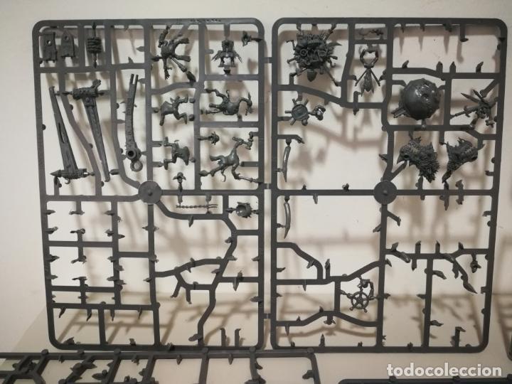Juegos Antiguos: LOTE WARHAMMER FESTÍN DE HUESOS BATTLEFORCE NECRONS DESGUACES - Foto 8 - 184623807