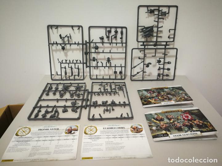 Juegos Antiguos: LOTE WARHAMMER FESTÍN DE HUESOS BATTLEFORCE NECRONS DESGUACES - Foto 13 - 184623807