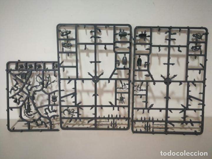 Juegos Antiguos: LOTE WARHAMMER FESTÍN DE HUESOS BATTLEFORCE NECRONS DESGUACES - Foto 34 - 184623807