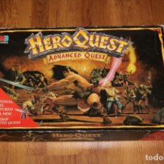 Giochi Antichi: CAJA VACÍA JUEGO HEROQUEST ADVANCED QUEST MESA TABLERO MB GAMES WORKSHOP CITADEL HASBRO 1992. Lote 184777400