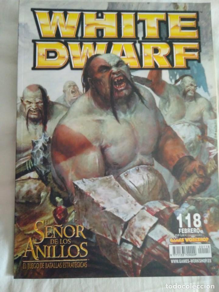 REVISTA WHITE DWARF 118 (Juguetes - Rol y Estrategia - Warhammer)