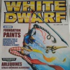Jogos Antigos: REVISTA WHITE DWARF 144. Lote 185881140