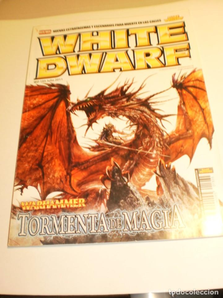 REVISTA WHITE DWARF 195 JULIO 2011 GAMES WORKSHOP (BUEN ESTADO) (Juguetes - Rol y Estrategia - Warhammer)