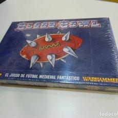Juegos Antiguos: BLOOD BOWL EL JUEGO DE FUTBOL MEDIEVAL FANTASTICO - WARHAMMER - CAJA INICIO - NUEVO SIN ABRIR. Lote 186367820
