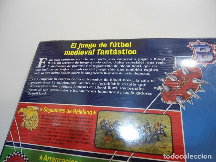 Juegos Antiguos: BLOOD BOWL EL JUEGO DE FUTBOL MEDIEVAL FANTASTICO - WARHAMMER - CAJA INICIO - NUEVO SIN ABRIR - Foto 8 - 186367820