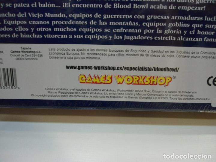 Juegos Antiguos: BLOOD BOWL EL JUEGO DE FUTBOL MEDIEVAL FANTASTICO - WARHAMMER - CAJA INICIO - NUEVO SIN ABRIR - Foto 11 - 186367820