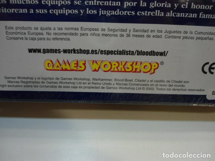 Juegos Antiguos: BLOOD BOWL EL JUEGO DE FUTBOL MEDIEVAL FANTASTICO - WARHAMMER - CAJA INICIO - NUEVO SIN ABRIR - Foto 13 - 186367820