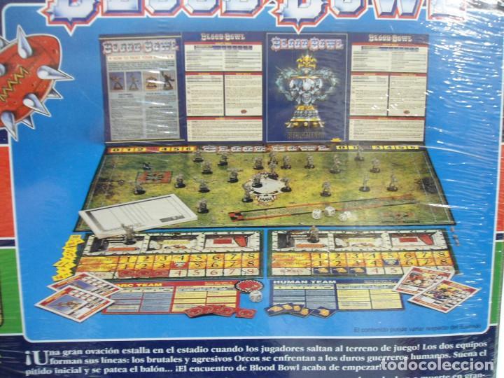 Juegos Antiguos: BLOOD BOWL EL JUEGO DE FUTBOL MEDIEVAL FANTASTICO - WARHAMMER - CAJA INICIO - NUEVO SIN ABRIR - Foto 14 - 186367820