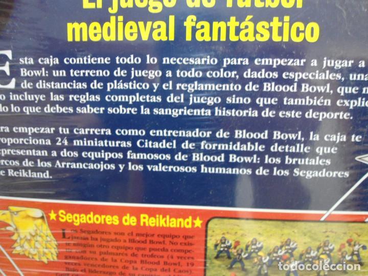 Juegos Antiguos: BLOOD BOWL EL JUEGO DE FUTBOL MEDIEVAL FANTASTICO - WARHAMMER - CAJA INICIO - NUEVO SIN ABRIR - Foto 15 - 186367820