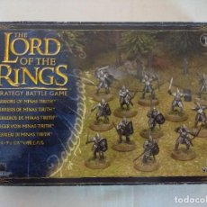 Juegos Antiguos: CAJA WARHAMMER/THE LORD OF THE RINGS/GUERREROS DE MINAS TIRITH/GAMES WORKSHOP-CITADEL.. Lote 187198332