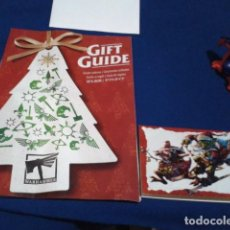 Juegos Antiguos: WARHAMMER GIFT GUIDE CATALOGO + POSTAL ( GUIA DE REGALOS ) NAVIDADES 2019. Lote 188438265