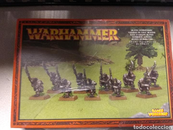 WARHAMMER GUERREROS ALIMAÑA SKAVENS METAL - SKAVEN STORMVERMIN NUEVOS EN CAJA PRECINTADA (Juguetes - Rol y Estrategia - Warhammer)