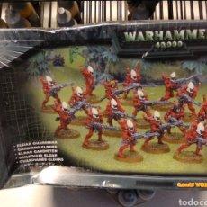 Jeux Anciens: WARHAMMER 40K GUARDIANES ELDAR- ELDAR GUARDIANS- CAJA NUEVA PRECINTADA CONTIENE 16 GUARDIANES ELDAR. Lote 189408461