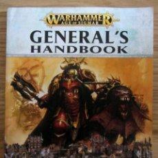 Giochi Antichi: WARHAMMER AGE OF SIGMAR GENERAL HADBOOK MANUAL CASTELLANO 170 PAGINAS. Lote 189476945