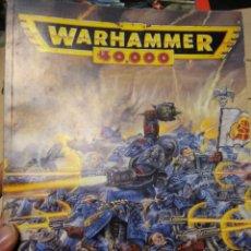 Juegos Antiguos: WARHAMMER 40000 REGLAMENTO - AÑO 1994. Lote 189751811