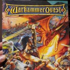 Juegos Antiguos: WARHAMMER QUEST REGLAMENTO GAMES WORKSHOP - AÑO 1999. Lote 189753140