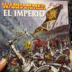 Juegos Antiguos: LIBRO SUPLEMENTO EJÉRCITOS WARHAMMER EL IMPERIO - GAMES WORKSHOP - AÑO 2000. Lote 189754875