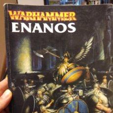 Juegos Antiguos: EJÉRCITOS WARHAMMER. -ENANOS - GAMES WORKSHOP (2000).. Lote 189757780