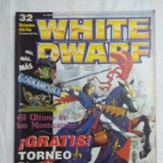 Juegos Antiguos: REVISTA WARHAMMER/WHITE DWARF Nº32.. Lote 189832440