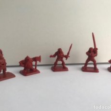 Jeux Anciens: HEROQUEST LOTE 5 FIGURAS HEROES MB 1989. Lote 190695965